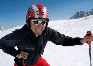 Frühjahrsskifahren Zugspitzblatt