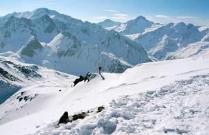Schneepanorama auf Weiskugel