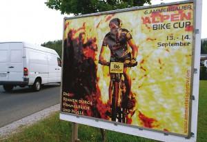 Plakatanschlag Oberammergau mit Bild Ronald