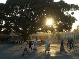 Abendstimmung in Axum