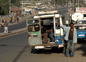 Sammeltaxi in Addis Ababa