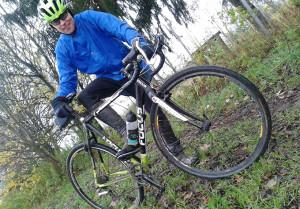 Mit dem Crossrad im Novembergrau