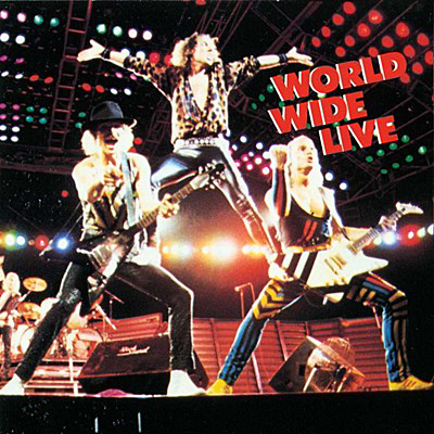 Sorpions World Wild Live CD-Innencover